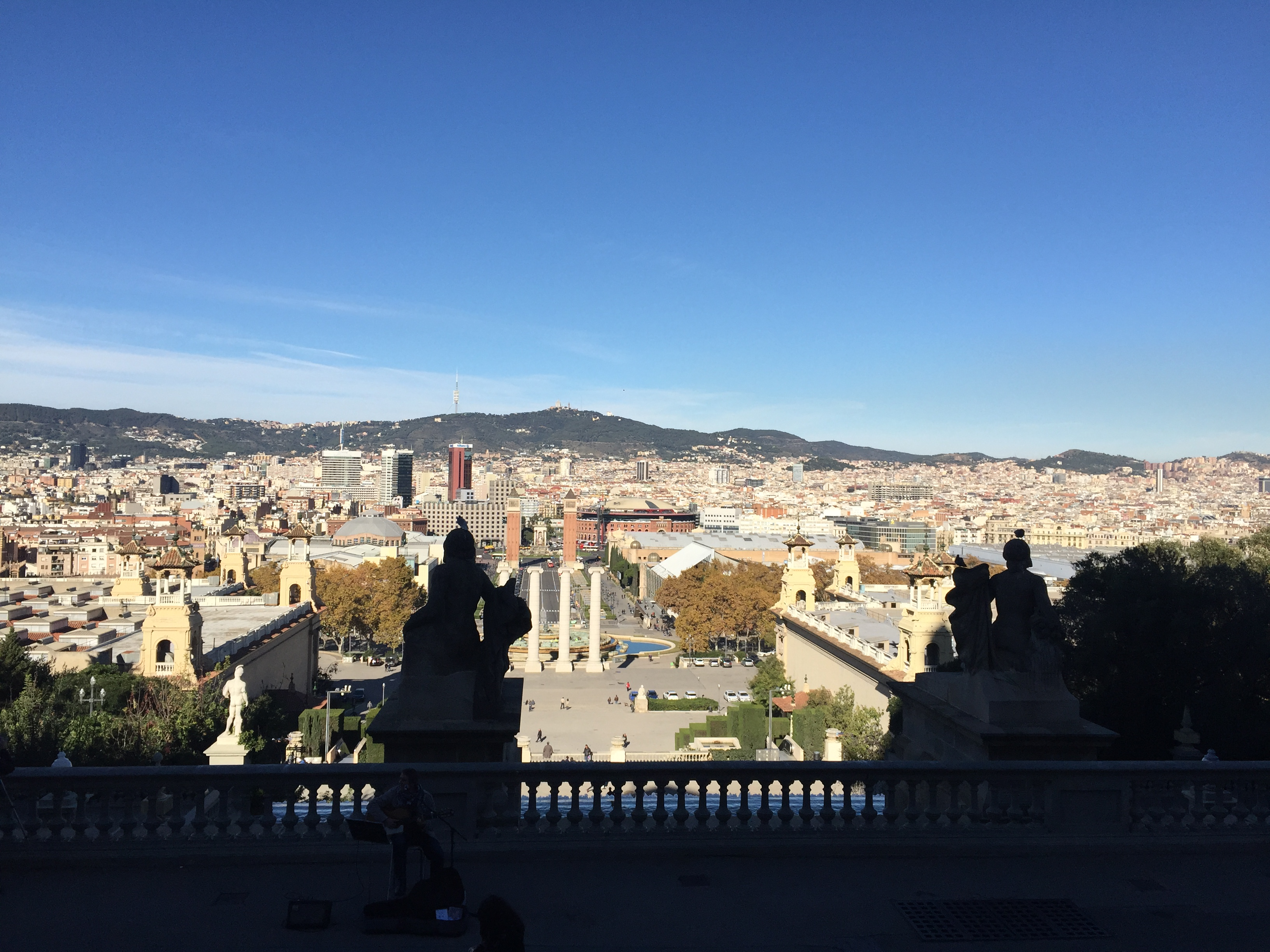 Монжуик в Барселоне