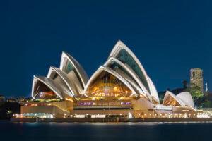 Sydneyn oopperatalo Sydneyssä, Australiassa